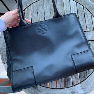 Tory Burch tote bag black great shape